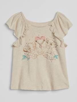 Gap babyGap   Disney Ruffle T-Shirt