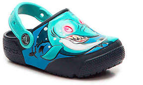 Crocs Boys FunLab Shark Toddler & Youth Light-Up Clog