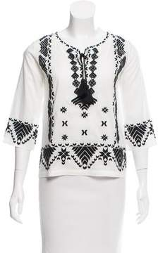 Figue Javanna Embroidered Top