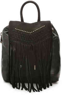 Women's Marlowe Leather Backpack -Black