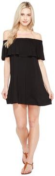 Culture Phit Summer Off the Shoulder Ruffle Dress Women's Dress