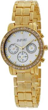 August Steiner Gold-tone Multifunction Ladies Watch