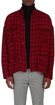 Haider Ackermann Men's Cocteau Oversized Insulated Cotton Shirt Jacket