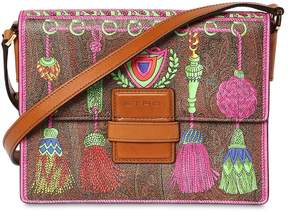 Etro Rainbow Printed Faux Leather Bag