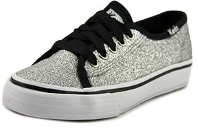 Keds Double Up Glittr Youth Us 11 Silver Sneakers.