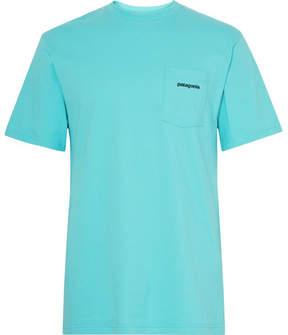 Patagonia P-6 Printed Organic Cotton-Jersey T-Shirt