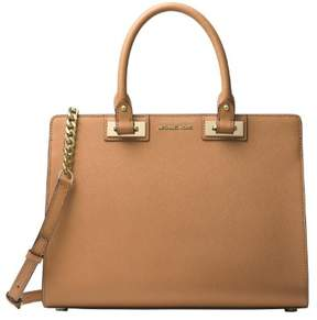 Michael Kors MICHAEL Quinn Large Satchel (Acorn) - ONE COLOR - STYLE