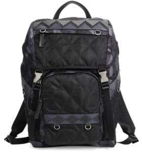Prada Zaino Quilted Backpack