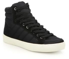 Saks Fifth Avenue Quilted High-Top Sneakers