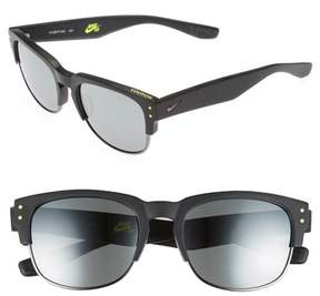 Nike Volition 54Mm Sunglasses - Matte Black/ Gunmetal