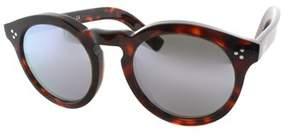 Illesteva Round Plastic Sunglasses.