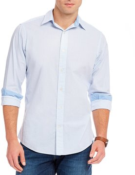 Daniel Cremieux Jeans Geo Print Long-Sleeve Woven Shirt