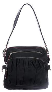 MZ Wallace Leather-Trimmed Nylon Crossbody Bag
