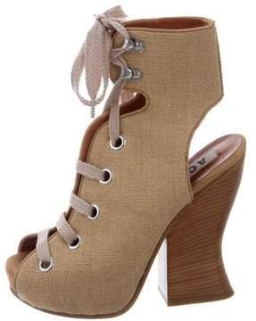 Acne Studios Platform Ankle-Boots