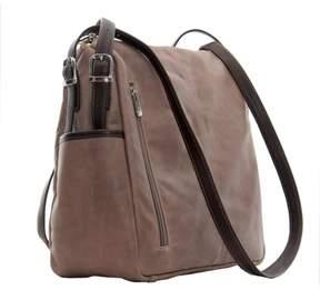 Piel Leather TOP-ZIP HANDBAG/SHOULDER BAG