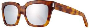 Saint Laurent Bold 1 Mirrored Square Sunglasses