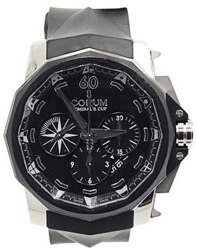 Corum Admirals Cup 12243519 116/350 Chronograph Titanium & Rubber 45mm Mens Watch