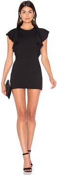 Susana Monaco Ruffle Seam Dress