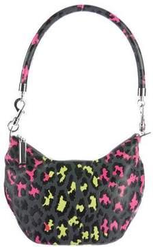 Christopher Kane Leopard Leather Shoulder Bag