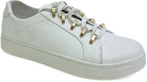 Bamboo White Grand Slam Sneaker