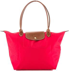 Longchamp Pink Nylon Le Pliage Large Tote Bag (New with Tags) - PINK - STYLE