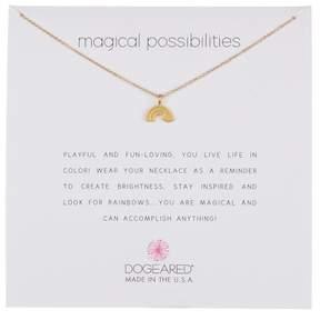 Dogeared Magic Possibilities Rainbow Charm Necklace
