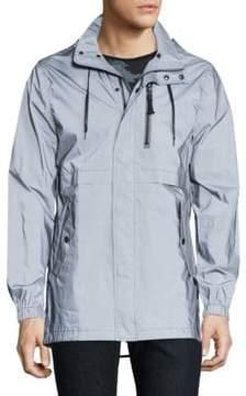 Madison Supply Reflective Hooded Jacket