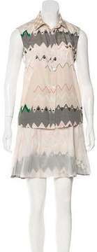 Timo Weiland Printed Skirt Set