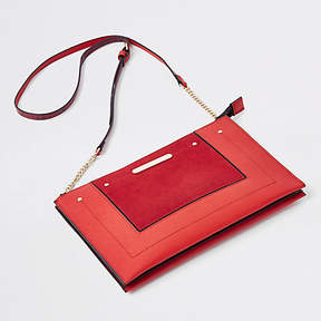 River Island Red chain cross body bag