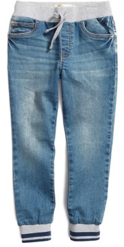 Tucker + Tate Toddler Boy's Denim Jogger Pants