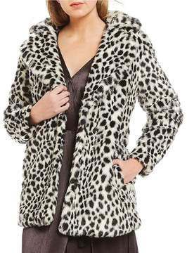 Billabong Wild One Faux -Fur Cheetah Jacket