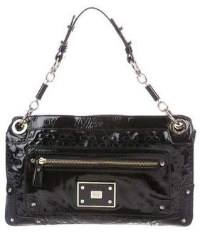 Anya Hindmarch Patent Leather Bow Clutch