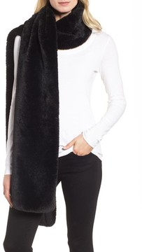 Donni Charm Women's Faux Fur Long Scarf