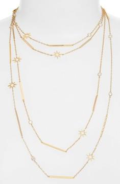 Jenny Packham Women's Stardust Multistrand Necklace