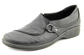 Easy Street Shoes Grade Women Round Toe Synthetic Black Loafer.