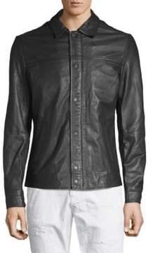 Scotch & Soda Classic Leather Jacket