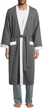 Jockey Waffle Long Sleeve Kimono Robes-Big