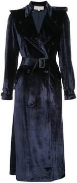Fleur Du Mal velvet trench coat