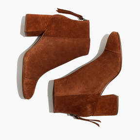 Madewell The Jillian Boot in Suede