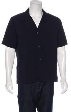Barena Venezia Wool Camp Collar Shirt