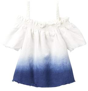 Joe's Jeans Dip Dye Woven Off-the-Shoulder Top (Little Girls)