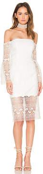 Bardot Geo Lace Dress