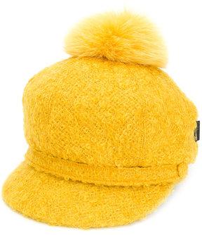Borsalino pom pom top hat