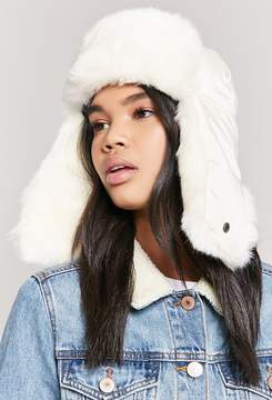 Forever 21 Faux Fur Trapper Hat