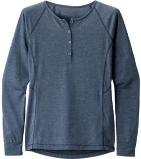 Black Diamond Attitude Henley Long-Sleeve Shirt