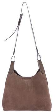 Michael Kors Nubuck Shoulder Bag - NEUTRALS - STYLE