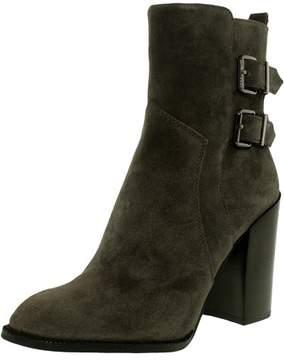 BCBGeneration Women's Savanna Leather Suede Steel High-Top Boot - 7M