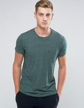 Jack Wills Ayleford Slim Fit Pocket T-Shirt In Green