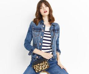 Lana Leopard Soft Camera Bag