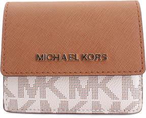 Michael Kors Vanilla & Acorn Logo Wallet - VANILLA - STYLE